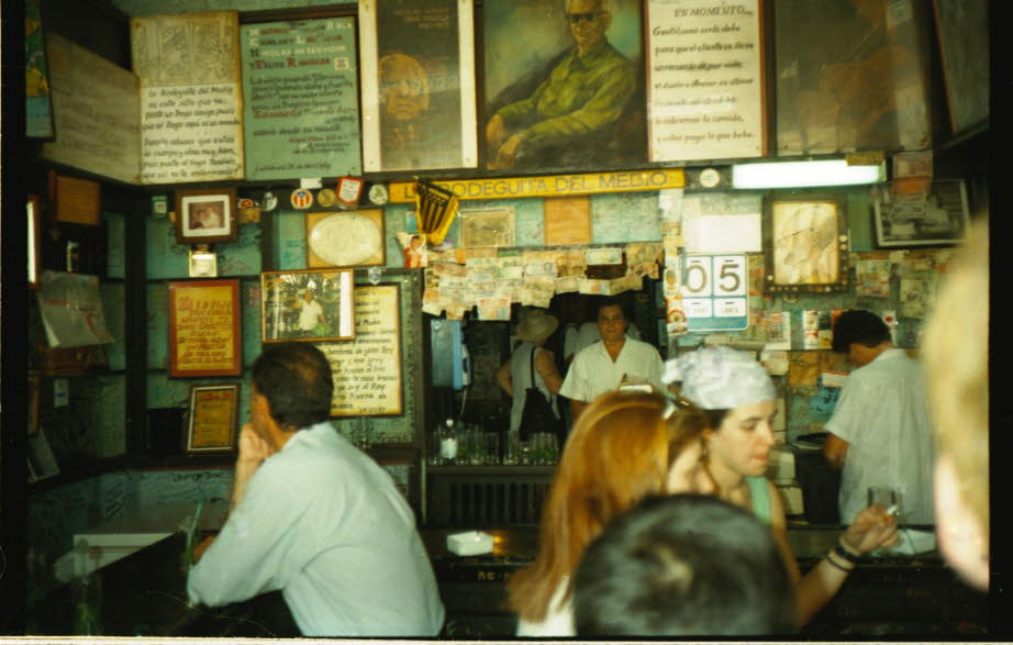 Bodeguita del Medio in Havanna