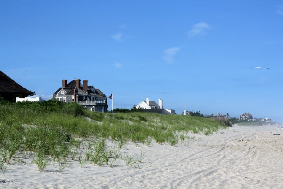 Strandvillen bei East Hampton Long Island