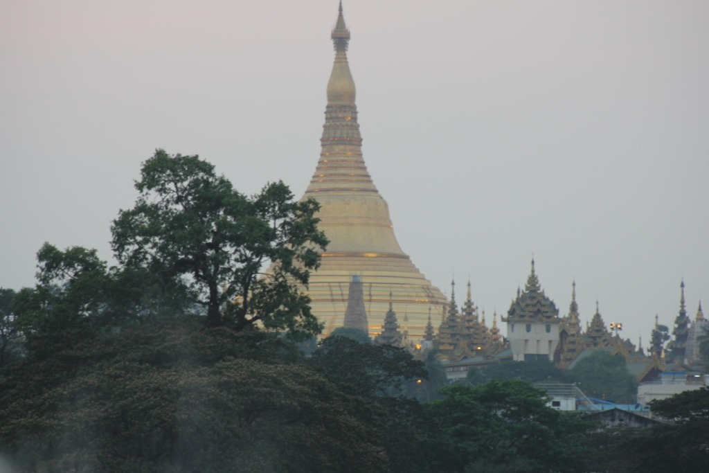 Am Kandawgyu Lake in Yangon (7)
